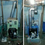 EFM Oil Boiler Installation Before and After