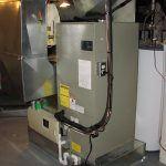Indoor heat pump air handler