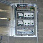 Control Panel for Burkholder HVAC