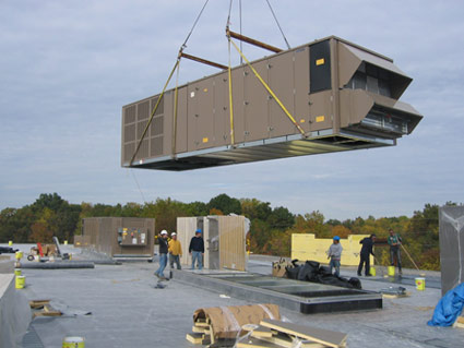 Great Installation Of Rooftop Unit