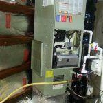Carrier Gas Furnace Installation - Retrofit