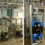 EFM oil fired boiler