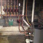 High efficiency Gas Boiler Installation by Burkholder's HVAC