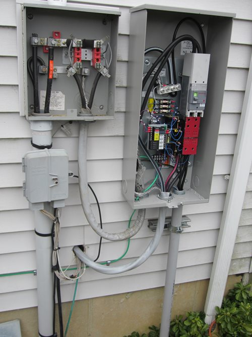 Generac residential generator install transfer switch?x64620 generators burkholder's heating & air conditioning, inc