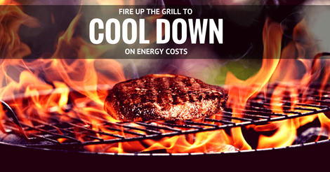 Grill outside this summer to save energy costs