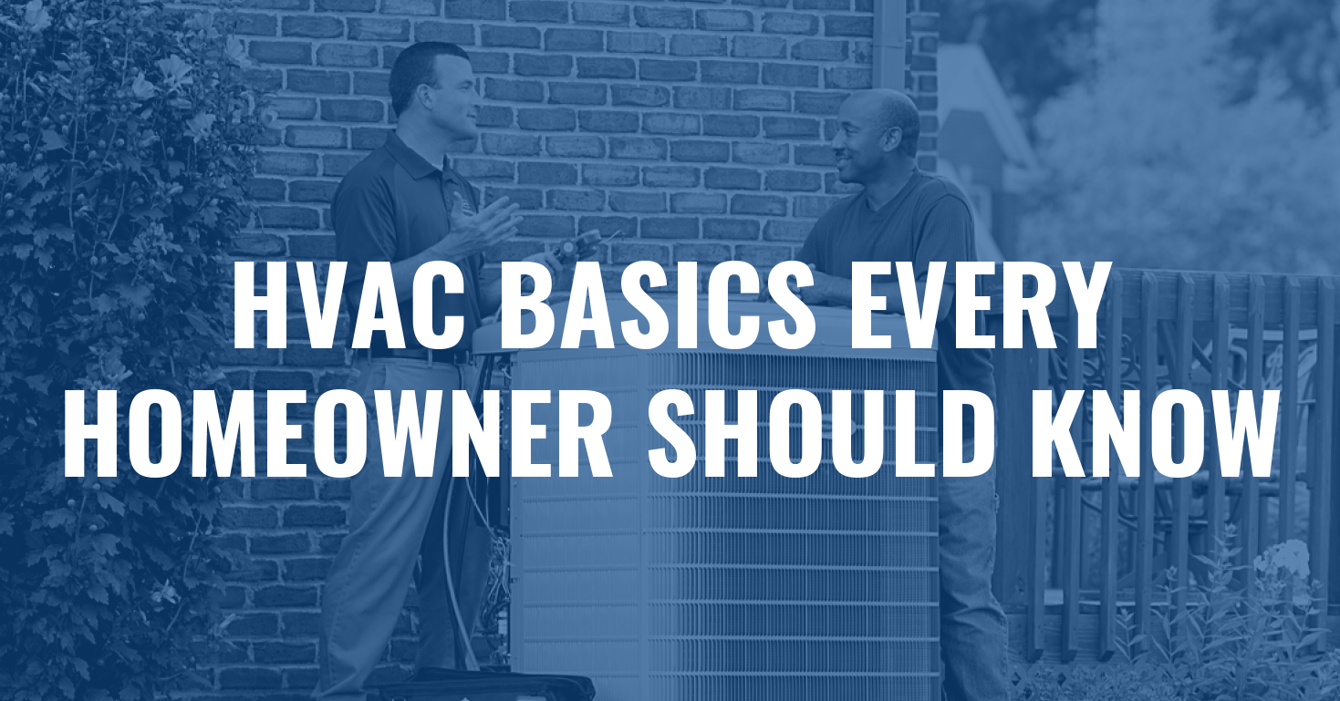 HVAC Basics EVERY HOMEOWNER SHOULD KNOW