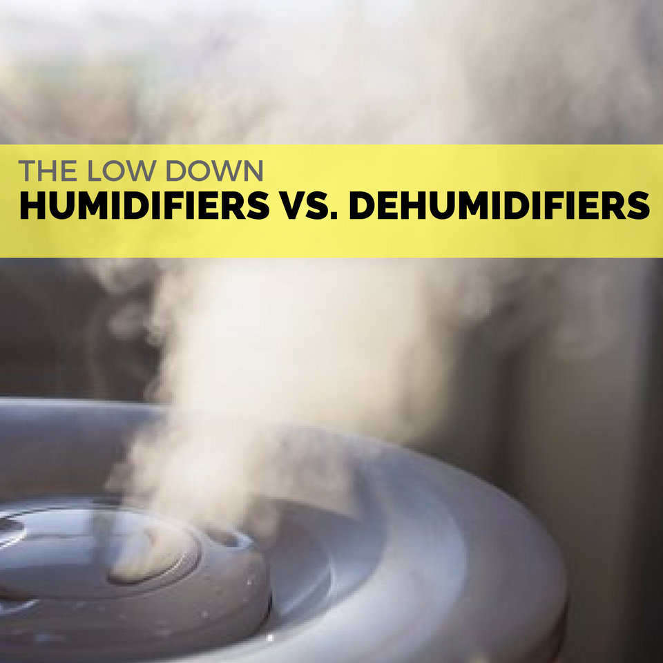 Humidifiers vs. Dehumidifiers