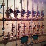 Burkholder's HVAC hydronic multi zone manifold