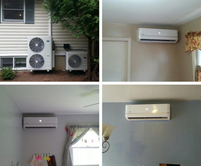 Charming Carrier Inverter Heat Pumps And Three Carrier High Wall Units