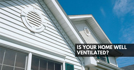 Is Your Home Well Ventilated?