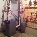 Burkholder's HVAC Gas Boiler Lochinvar Primary Piping