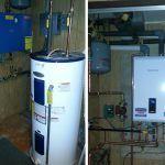 Navien propane gas efficient combi system