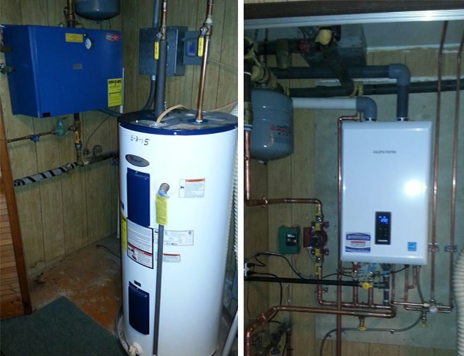Gas boilers burkholder 39 s heating air conditioning inc for What is the most economical heating system