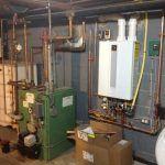 Oil to Gas Boiler Conversion Installation