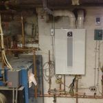 Oil to Gas Boiler Conversion Installation