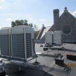 Rooftop units at Palm Schwenkfelder Church
