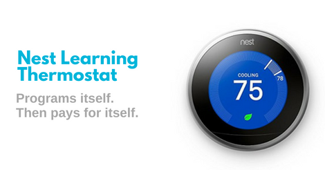 Save Energy with Nest Learning Thermostat