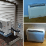 Installation of Fujitsu two zone inverter heat pump system