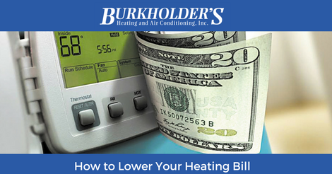 how to lower your heating bill in emmaus, pa