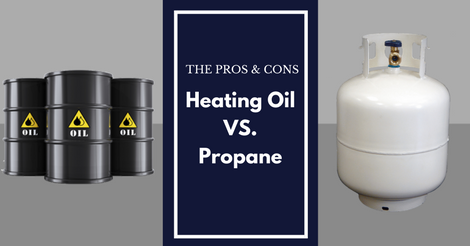 pros and cons of heating oil vs. propane
