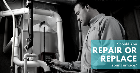 should you repair or replace your furnace